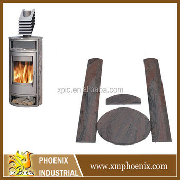 granite cladding for heating stove germany style stove