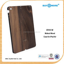high quality bamboo/wooden tablet pc case for ipad mini/air/5 wooden pc case
