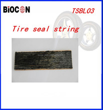 Black tire repair seal string 200*3.5MM tire seal srtingTSBL03