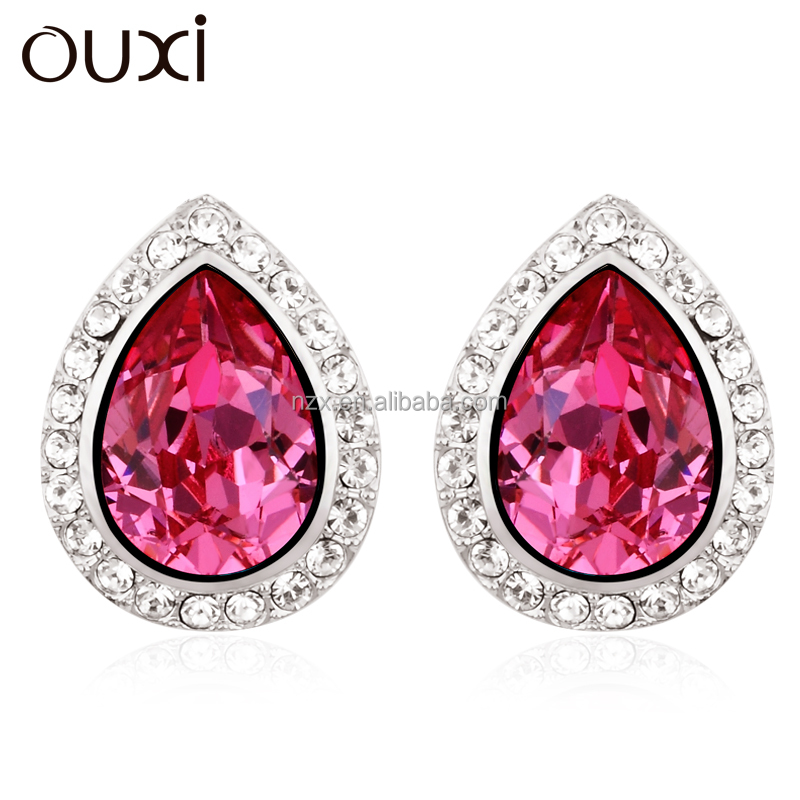 OUXI 2015 New designs jewelry korea style earrings 20499