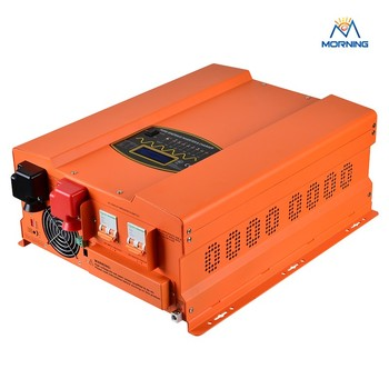 6000W-242 24vdc 220vac power inverter with charger