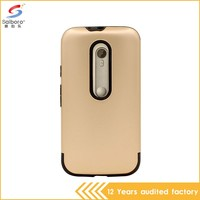 Factory price bulk cheap shockproof for motorola for moto g cover case