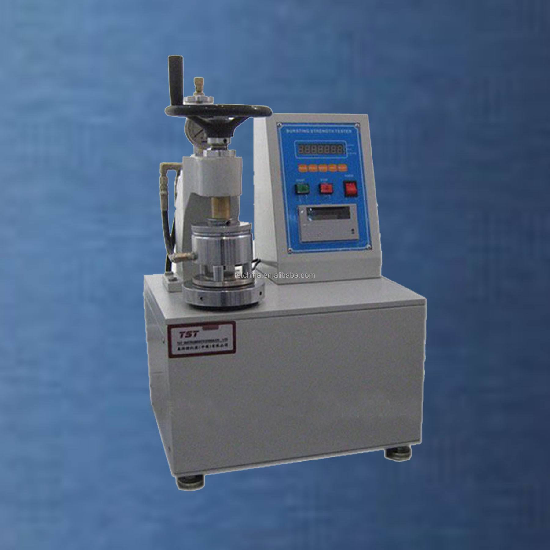 Automatic bursting pressure strength tester-material mechanical testing