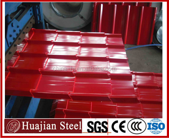 Color Steel Roofing Tiles/Color Steel Plate/Color Corrugated Steel Sheets