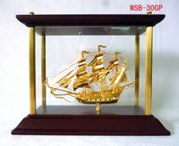Worthy Golden Boat Ship Trophies