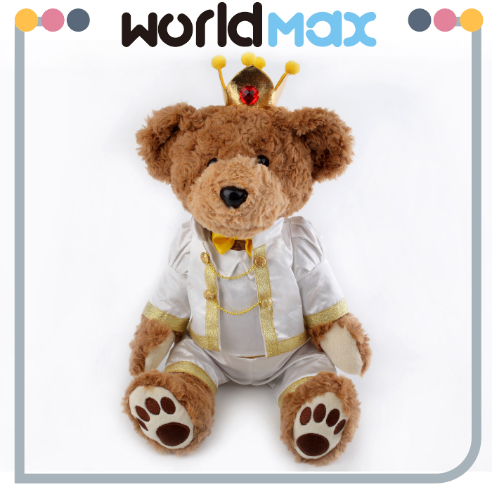 White PP Cotton Personalized Teddy Bear