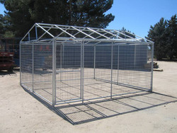 Metal large steel pet dog house dog cage pet house wholesale cages for sale(Manufacturer)