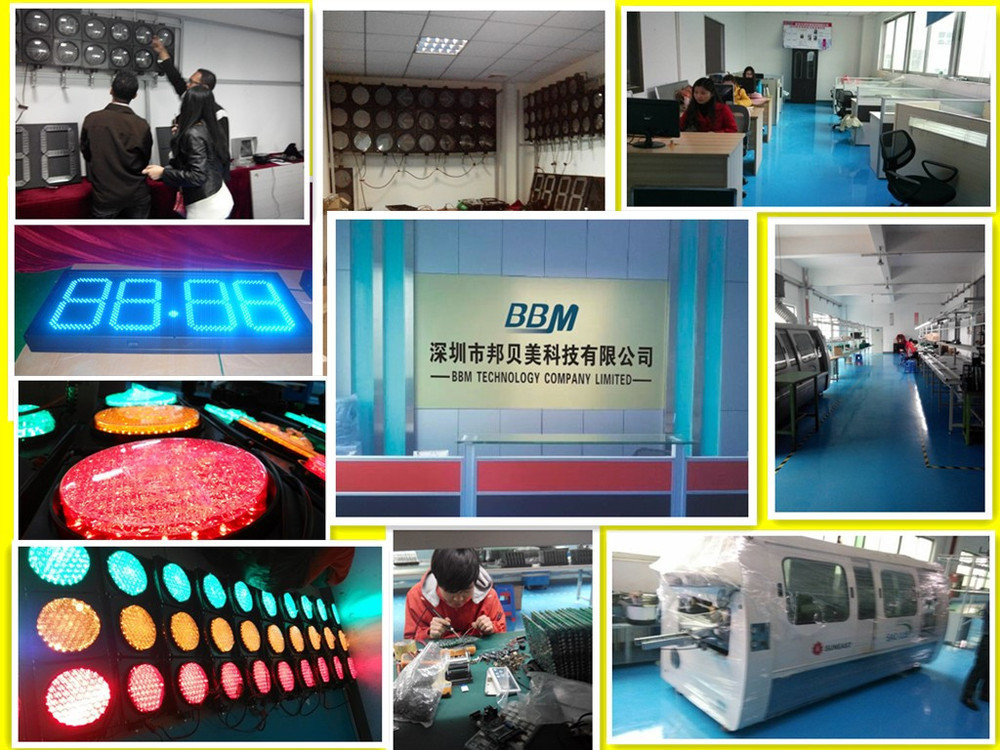 Long lifespan 100mm traffic light from factory price