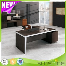 2016 New Boss Series BS-Z2090 New Design Modern Europe Cheap Price Wood Office Executive Desk
