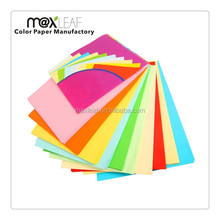 80gsm A4 size colorful offset typing paper