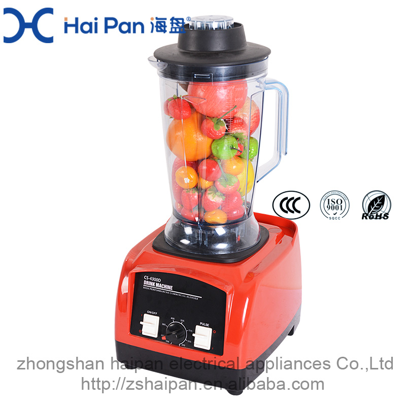 hotel use restauraunt strong blender 3HP LCD digital commercial bar blender 220v heavy duty smoothie blender