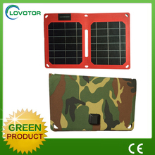 Solar rechargeable bag 5V 10W foldable Solar Chargers for mobile battery