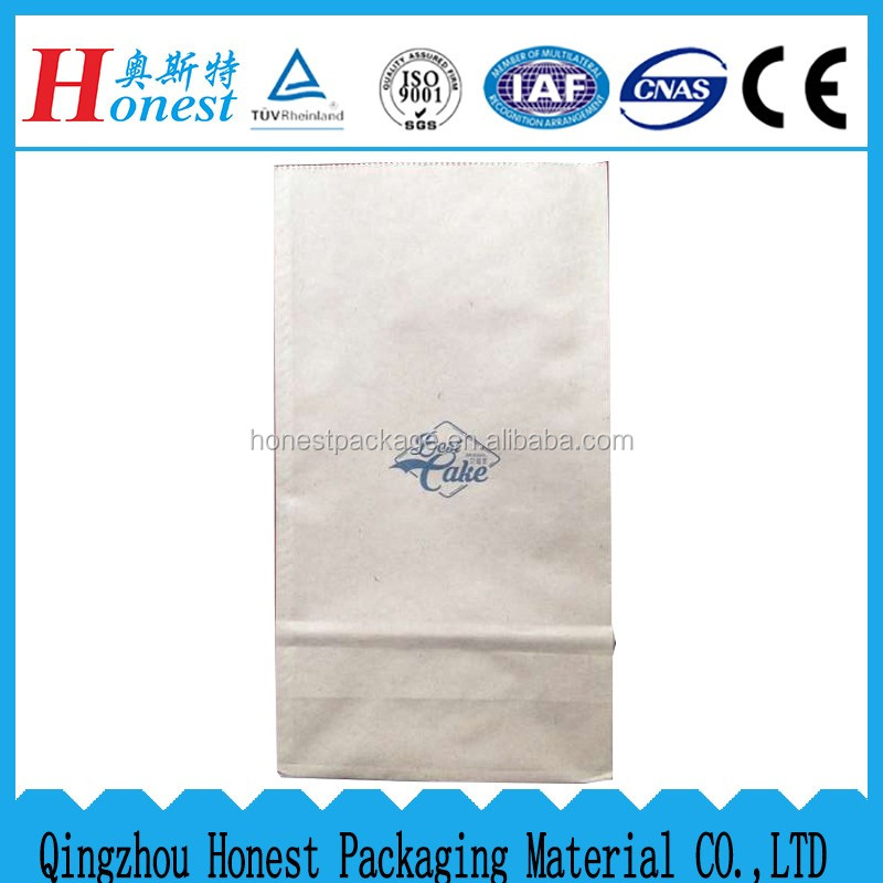 PET/PE Kraft Paper Bag laminated aluminum foil for food packaging