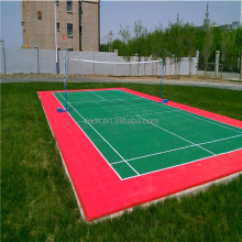 shijiazhuang PP outdoor tennis sport court floor tile for sale
