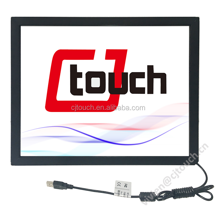 "[12.1-100inch] Touch overlay kit, 17"" touchscreen for karaoke player"