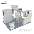 Special exhibition booth display design for teeth whitening