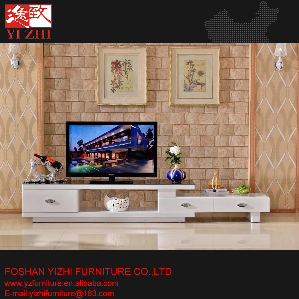Meilleur Vente conception salon meubles verre tv tableaumeuble télétv stand -> Meilleur Meuble Tele