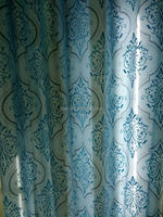 2015 shaoxing home textile printing window curtains