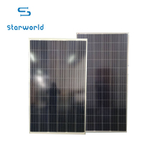 Photovoltaic module 80w 100w 120w 180w big discount solar panel price poly solar panel with high quality