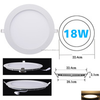 18W 3 year warranty CE high quality led ceiling downlight