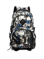 2015 cool design 1680D polyester material school backpack accept all colors customized