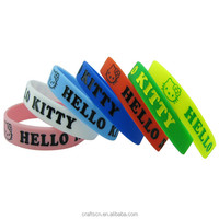 export silicone ruler slap bracelet