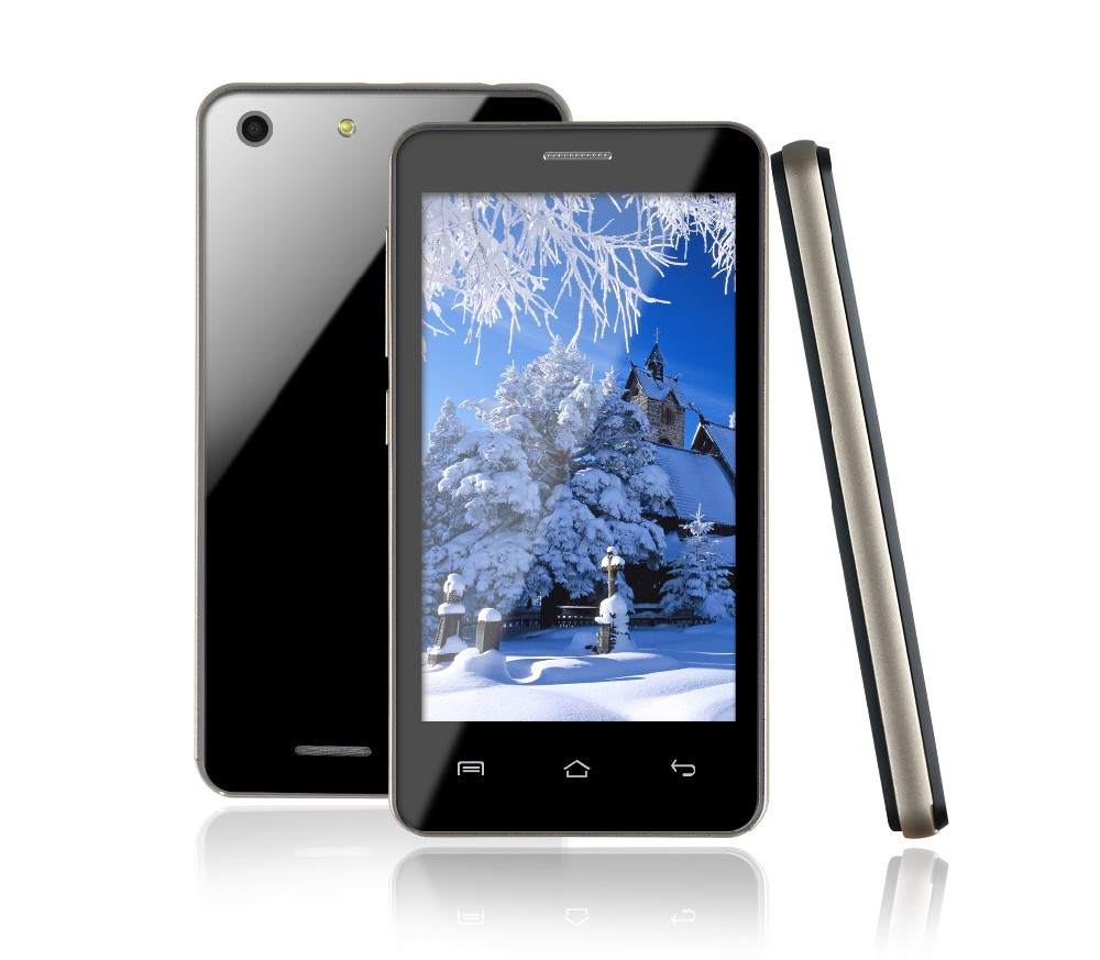 "International version 4.0"" 3G Android Smartphone 512 M/4GB dual Core touch"