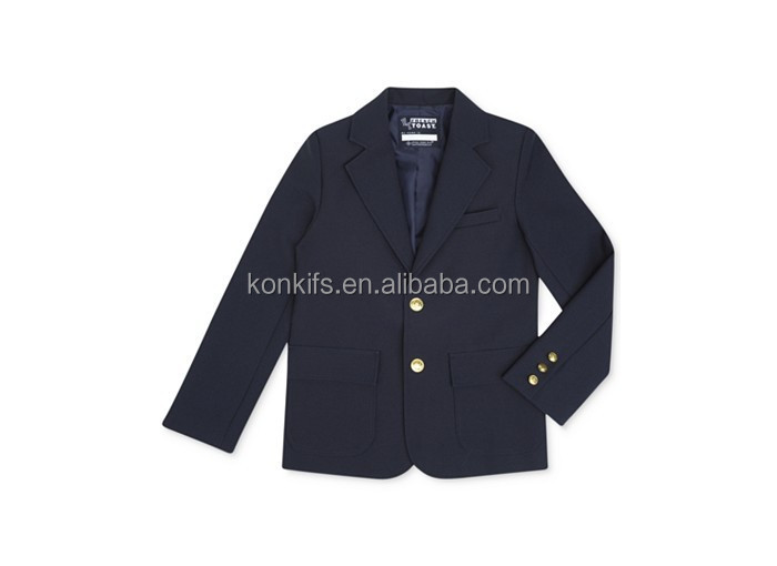 Boys' Uniform Regular Fit School Blazer