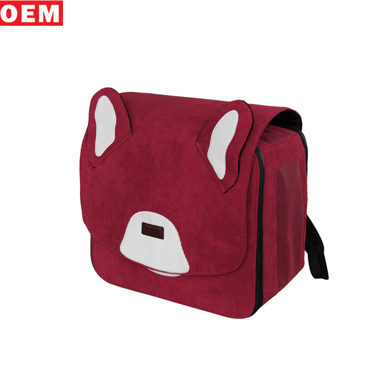 Wholesale Pet Accessories Dog Carrier Backpack Pet Carrier Bag For Outdoor