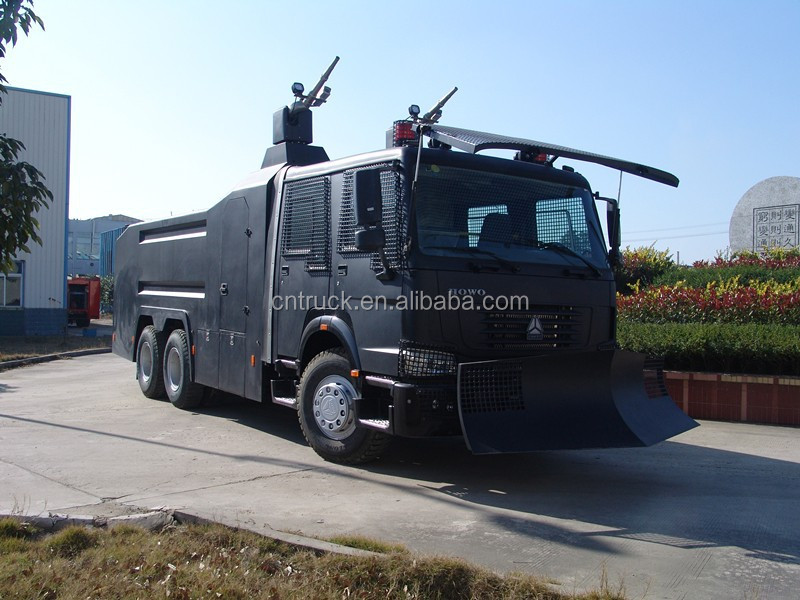 Howo bulletproof Anti Riot Water Cannon Vehicle