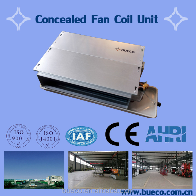 Chilled water fan coil unit professional design & manufacturing
