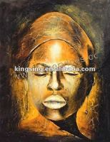 African Forest People Hot Sellin Modern Oil Painting on Canvas