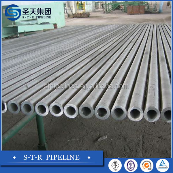 pipe 8 '' ( XXmm) ASTM A106 GRP Sch .40 BE. carbon black seamless steel pipe 1000M Ukrain quality