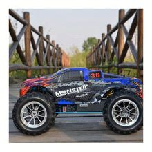 gas powered toy car 1/10 hsp nitro rc monster trucks