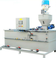 PAC powder dosing device of automatic dosing system