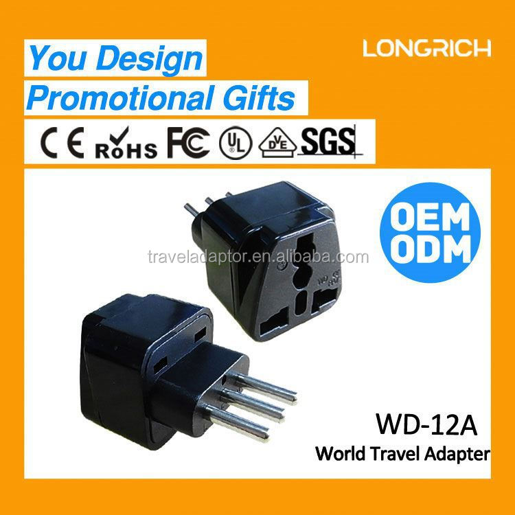 HOTEST&NEWEST Euro Travel Plug For Those Who especially travel Italy and Uruguay(WD-12)