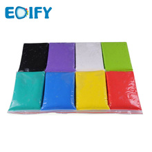 12 colors eco friendly soft colorful air dry polymer clay