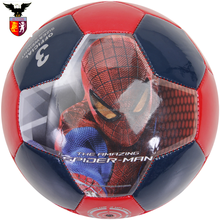 Spider man mini soccer ball machine sewing ball