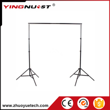 2.8m Light Stand 3m Aluminum Crossbars Collapsible Portable Studio Photo Photography Background Backdrop Stand Support Crossbar