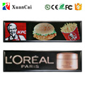 SMD P10-128x32RGB programmable full color LED sign display pictures and messages with USB flash disk communication control