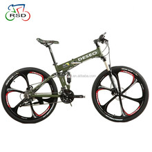 26inch super quality folding mountain bike/21speed disc brake folding bike mountain bicycle/factory offer foldable mountain bike