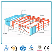 high quality shipping storage residential steel structure farm building