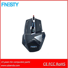 2017 Hot Selling FCC Standard Computer Game Optical X7 Mouse