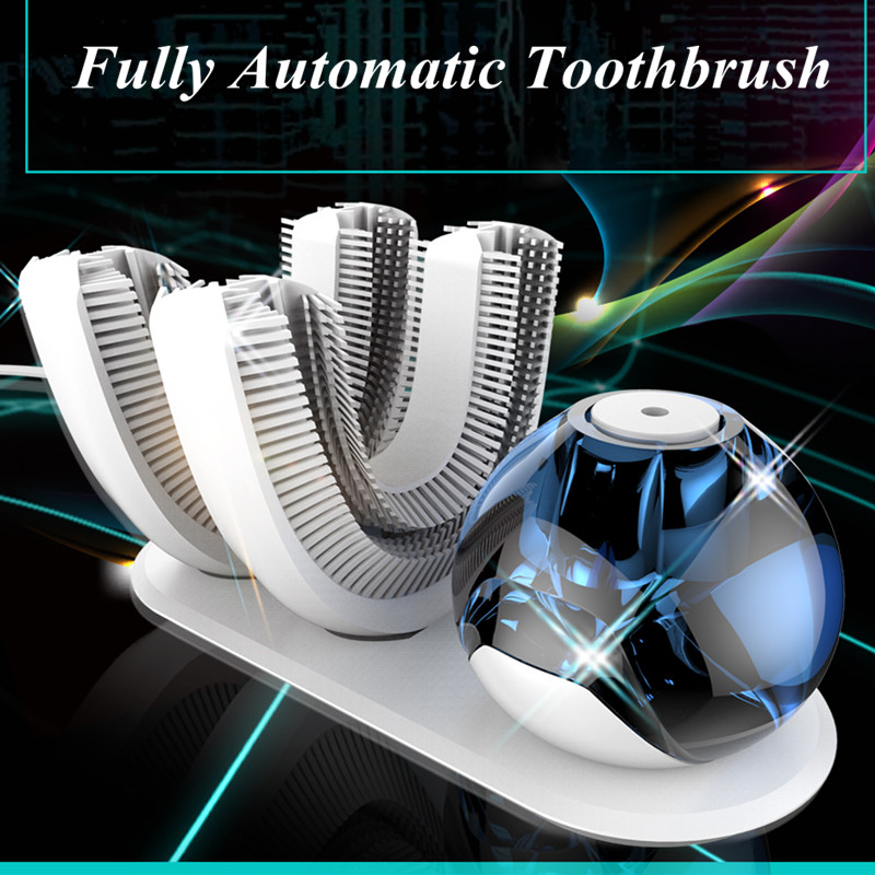 New Technology Wireless Charging Electric Intelligentize Toothbrush Rechargeabl with LiquidToothpaste