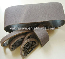 sanding belt for polishing soft material/wide belt sander
