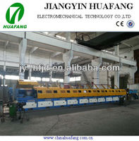 Straight line carbon wire drawing equipment price for staple