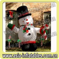 Standing Snowman, Christmas Inflatable Decoration Ideas