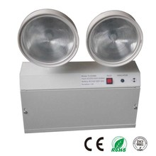 Two Heads Project LED Rechargeable Emergency Lamp