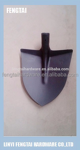 Italian Agricultural Garden Tools Round Steel Shovel Spade