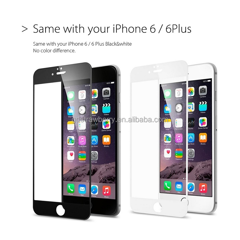 Consumer electronics alibaba china celulares Protective Film Tempered Glass Screen Protector for iphone 6/6s